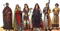 Костюмы средневековой Европы