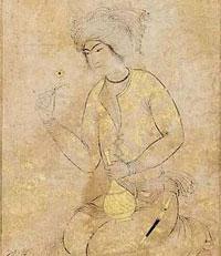 Коленопреклоненный юноша (миниатюра)