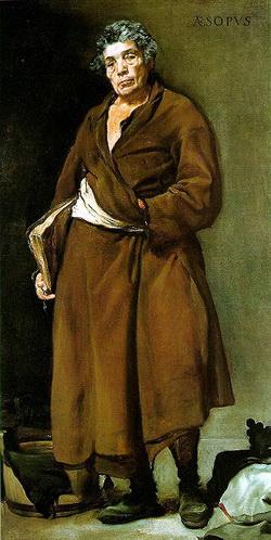 Эзоп (Д. Веласкес, 1639-1640 г.)