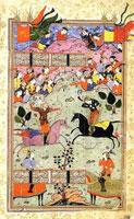 Иллюстрация к Шахнаме (М. Ширази)