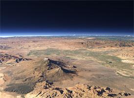 Арарат (фото со спутника)