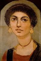 Портрет молодой женщины (энкаустика)